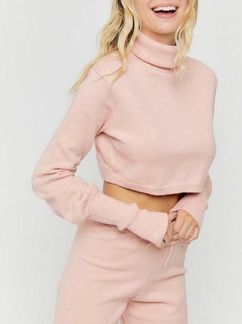 Blush Knit Top