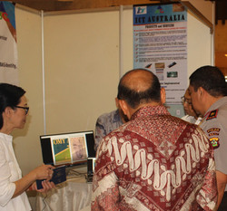 Rika Coordinating Cyber Security Bali