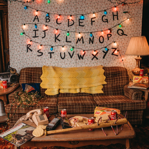 The Upside Down in my In-Laws' Basement   Just for Fun   Poconos & Lehigh Valley, PA Photographer