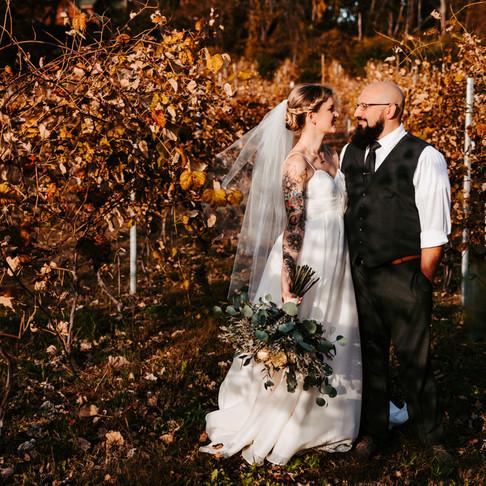 Bridget + Nathan Are Married!   Poconos & Lehigh Valley Wedding Photographer