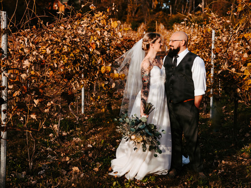 Bridget + Nathan Are Married! | Poconos & Lehigh Valley Wedding Photographer
