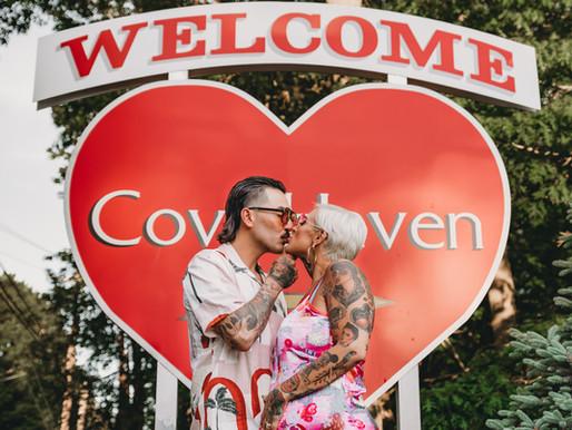 Steamy Pocono Honeymoon Resort Maternity Boudoir | Poconos + Lehigh Valley, PA Photographer