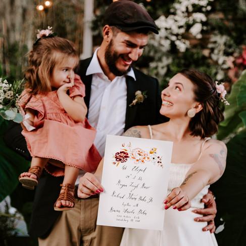 Rayna + Richie (& Baby Rowan) Eloped!   Promise Ridge   Stroudsburg, PA Wedding Photographer