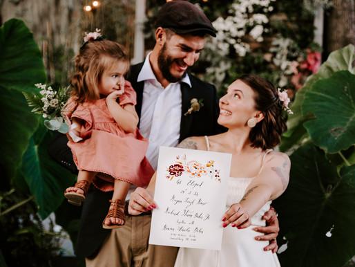 Rayna + Richie (& Baby Rowan) Eloped! | Promise Ridge | Stroudsburg, PA Wedding Photographer