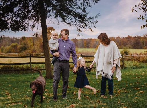 Fall Family Sesh at the Farm | Lehigh Valley, PA Photography