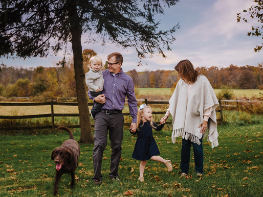 Fall Family Sesh at the Farm | Lehigh Valley, PA Photography