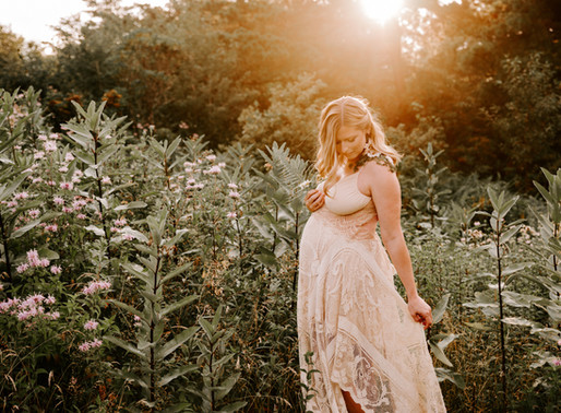 Katherine's Magical Mountain Sunset Maternity Session   Pocono Stroudsburg, PA Photographer