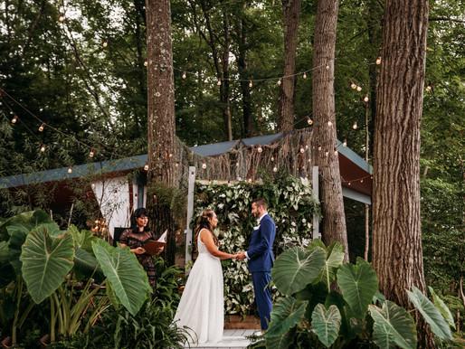 Kristina & Brandon's Intimate Microwedding at Promise Ridge  | Poconos Elopement Photographer