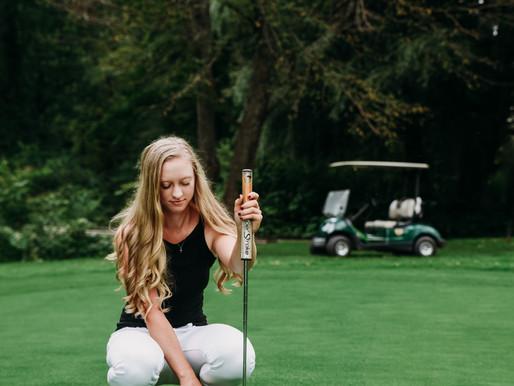 Olivia's Graduating   High School Senior Golf Resort Sesh   Poconos, PA