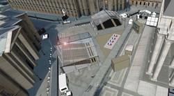 Vue en simulation 3D