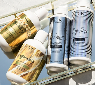 IGK Hair Products On Display.png