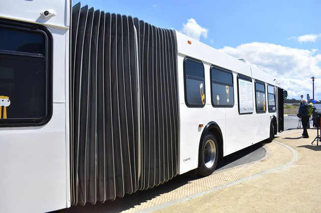 UCSC Students Embrace METRO's Articulated Buses