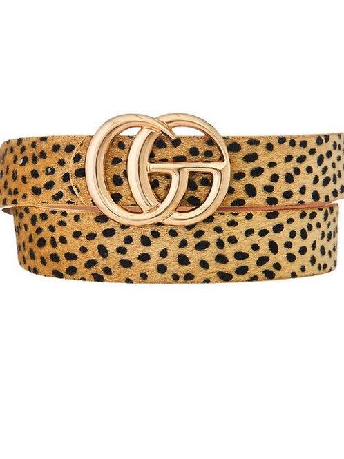 The G Cheetah Belt