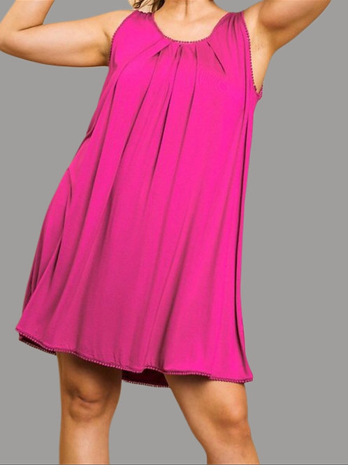 Sparkling Raspberry Dress