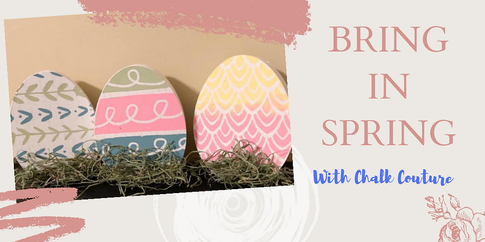 Bring In Spring Workshop with Chalk Couture