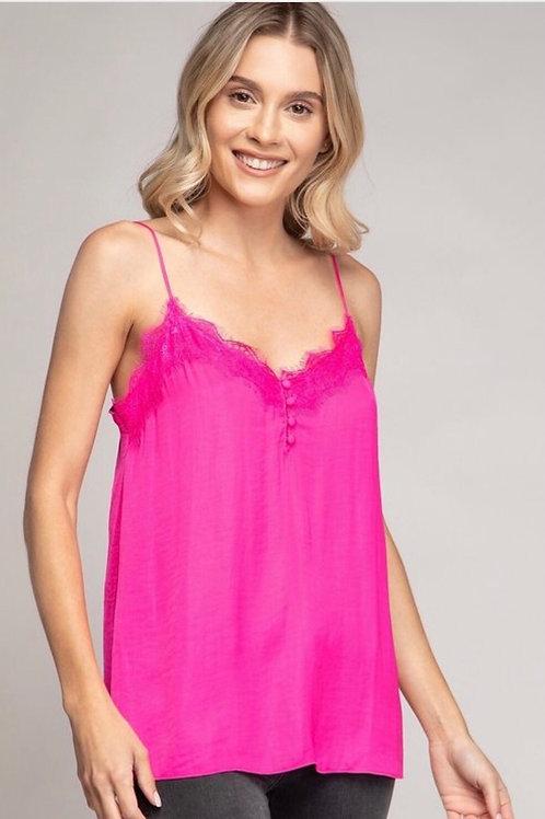 Hot Pink Cami Top