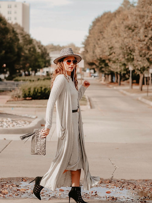 Not Just for The Weekend Duster Cardigan