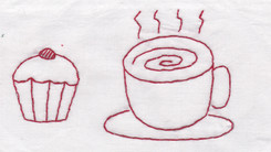 Hot Tea and a Cupcake