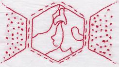 Swirled Hexagon