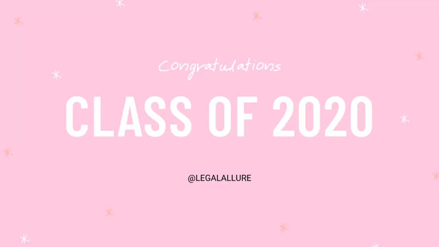 A Letter to the Class of 2020