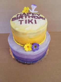 Custom Tiered Cake