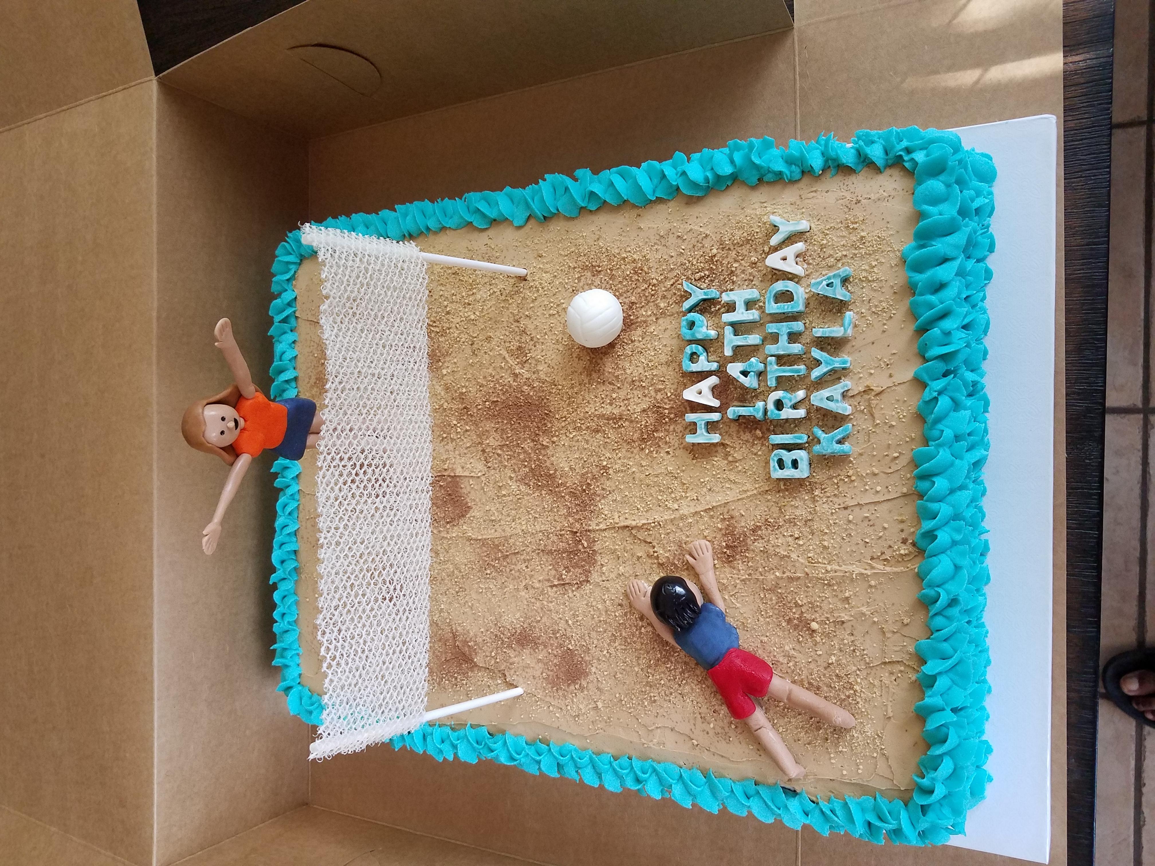 Custom Half Sheet Cake