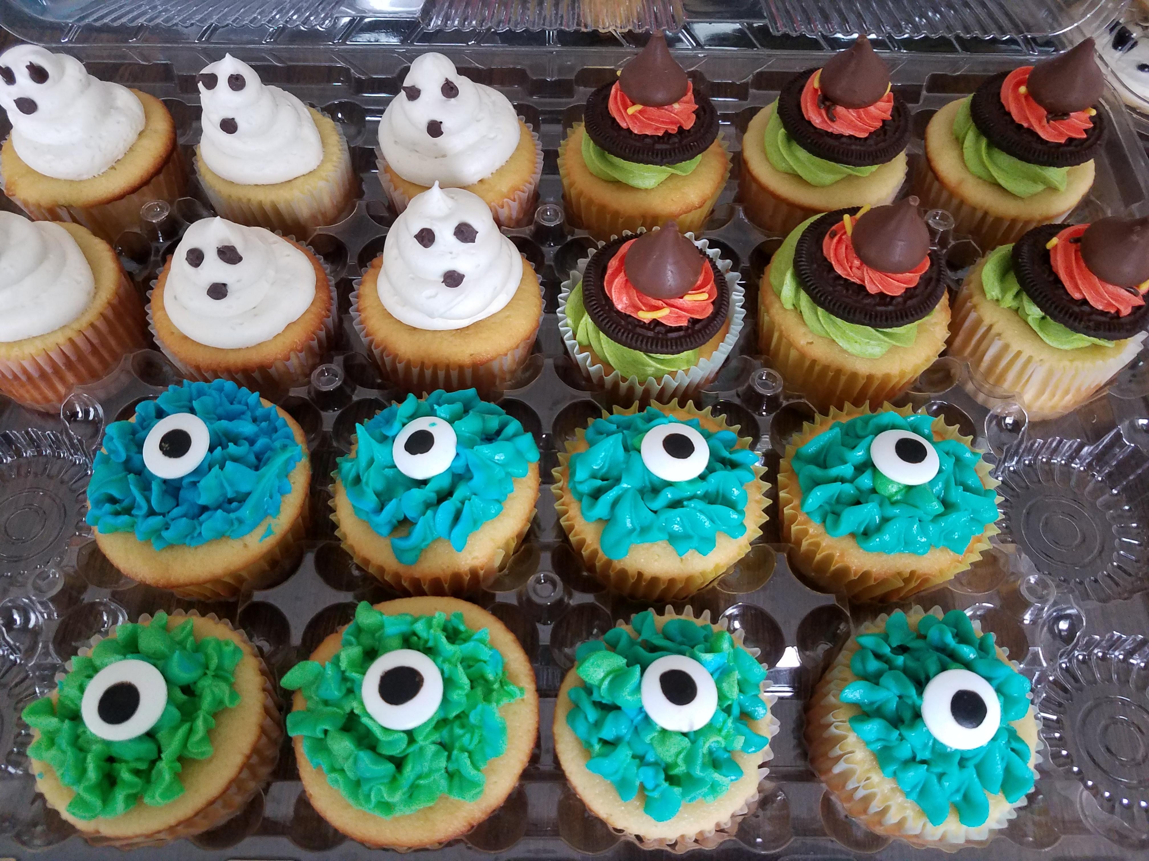 Spook-tacular Cupcakes