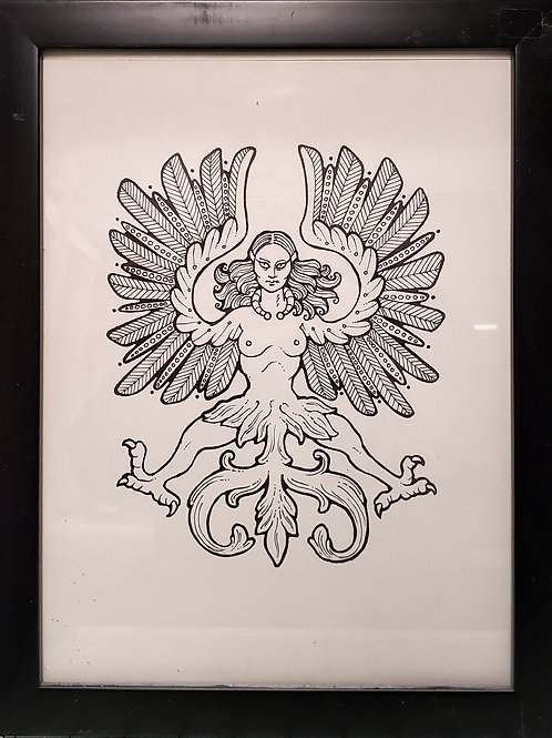 Heraldic Harpy