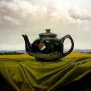Afternoon Tea, 2015. Oil on canvas, 18x24