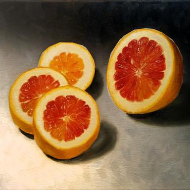 Slice, 2018. Oil on canvas, 10x12