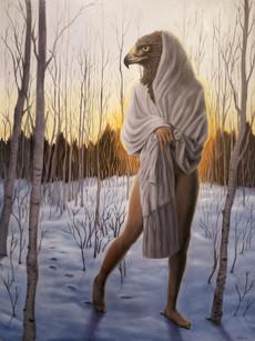 Winter, 2019. oil on canvas, 48x36