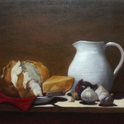 Lunch, 2015. Oil on canvas, 18x24