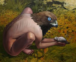 Suadade 2019. Oil on canvas 32x45