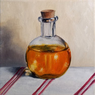 Potion, 2017. Oil on canvas, 8x8