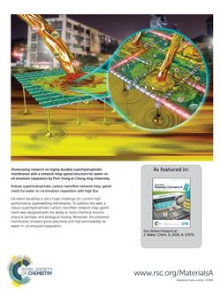 초소수성 이용 물-오일 분리기술 개발