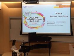 piano competition (represent SG)