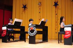 piano ensemble (6 hands 3 pianos)
