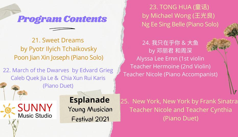 Concert program list 4