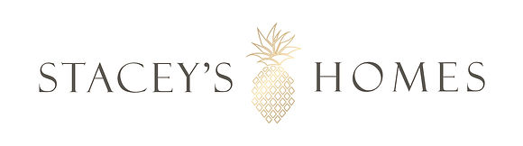 Stacey Willis Homes Indiana Realtor Gold Pineapple Logo and Branding