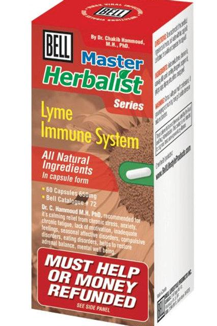 72 Bell Lyme Immune System