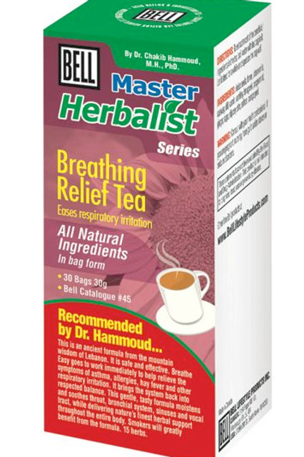 45 Breathing Relief Tea