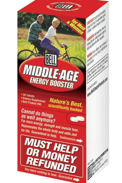 65 Middle Age Energy Booster