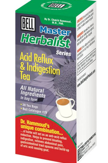 29 Acid Reflux and Indigestion Tea