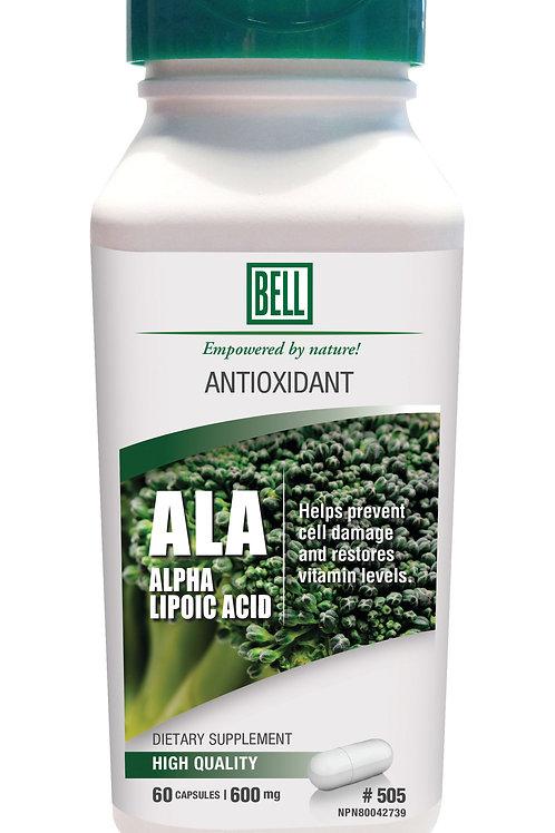 505 Alpha Lipoid Acid 60 capsules