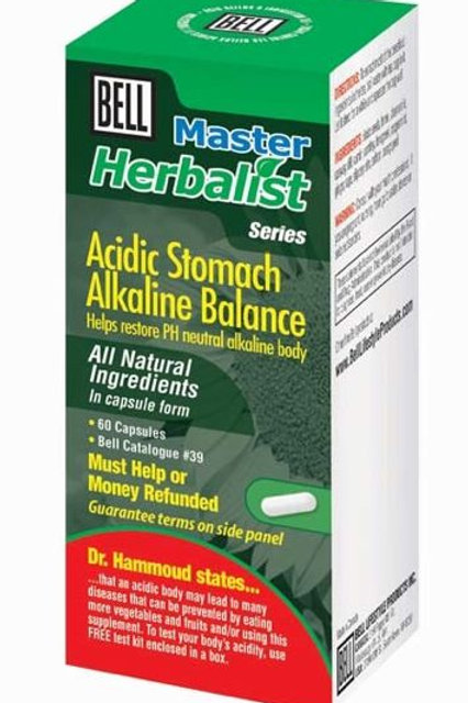 39 Acidic Stomach Alkaline Balance