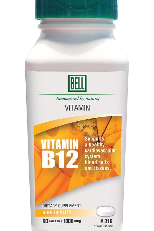 315 Vitamin B12 60 capsules