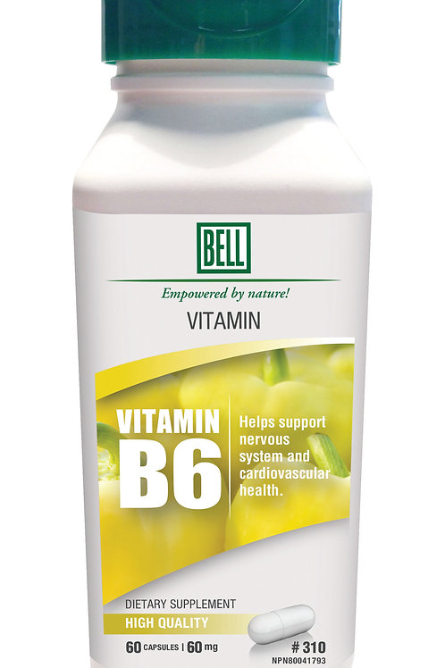 310 Vitamin B6 60 capsules