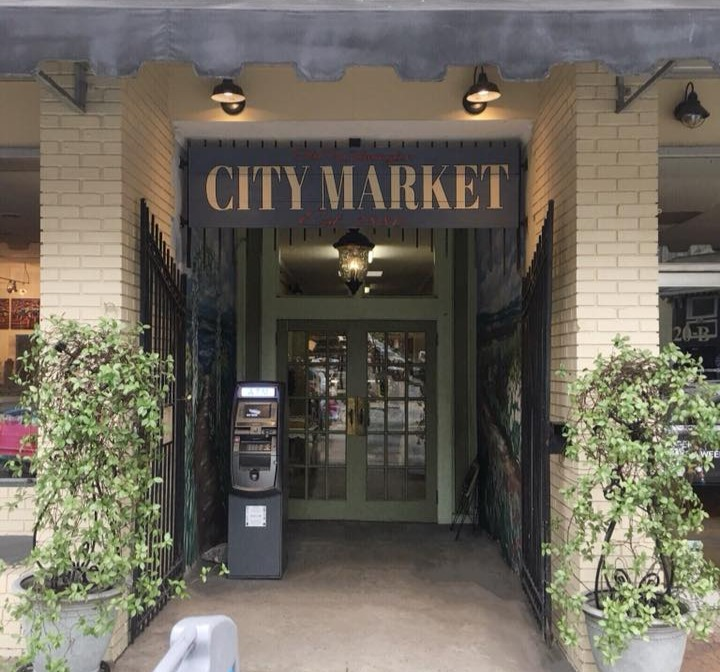 City Market Entrance