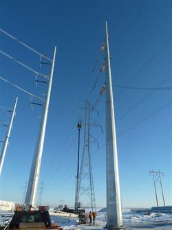 6 Mono Pole Crossing
