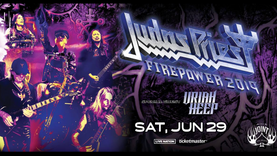 JUDAS PRIEST Return to Las Vegas with FIREPOWER, a 50th Anniversary and 2019 North American Tour Fin